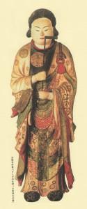 さしがねを持った聖徳太子像